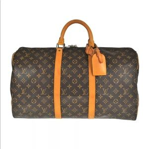 Authentic Louis Vuitton Keepall 50 Travel bag